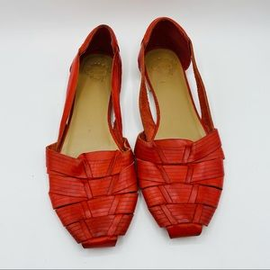 Ecote Weaved Leather Huaraches
